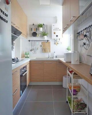model dapur kecil ikea