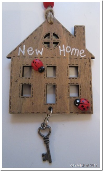 New Home Wooden Gift Tag