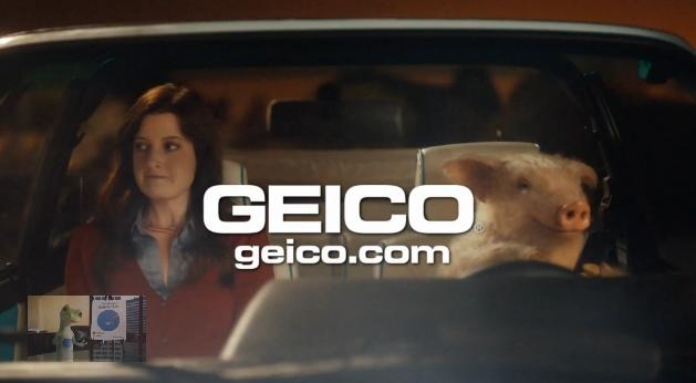 Maxwell The GEICO Pig Goes On A Date In New Piggy Commercial