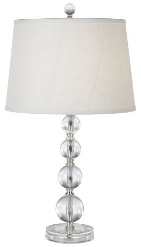 Stacked Ball Acrylic Table Lamp