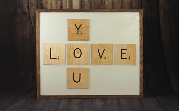 Love You Wall Art