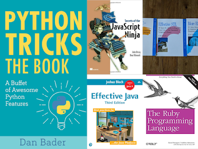 5 Advanced Books for Experienced Java, C++, Python, Ruby and JavaScript Developers