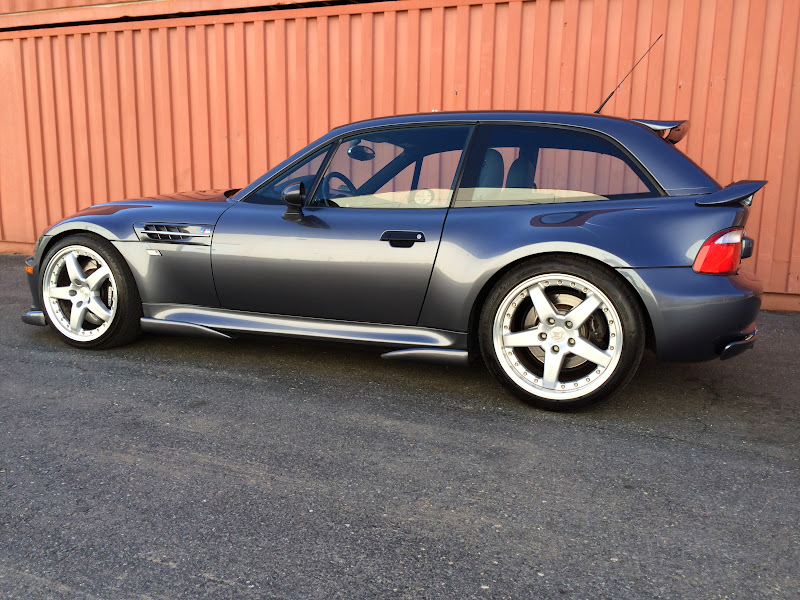 Purchase Used 2002 Bmw Z3 M Coupe Coupe S54 Steel Grey 1of