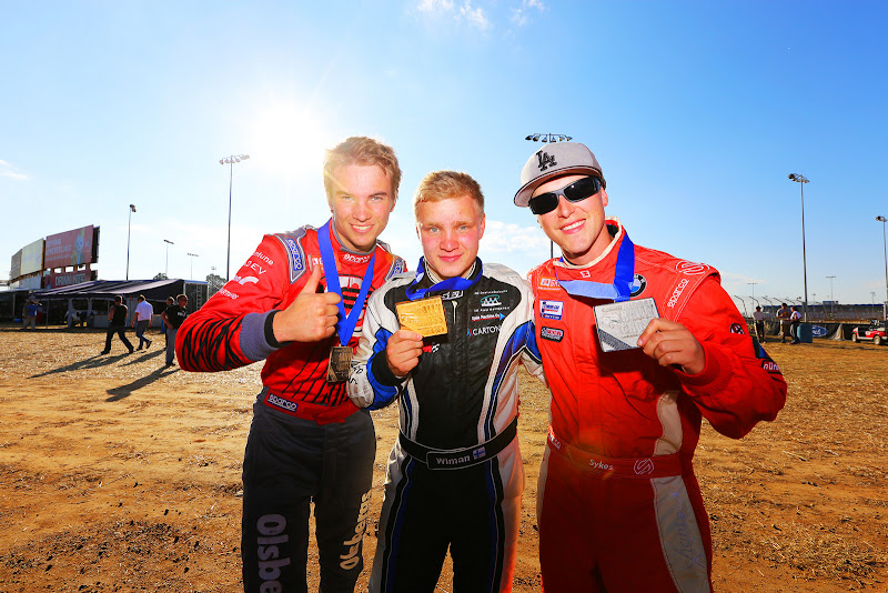 Really good to get second place and a silver medal!This season has been hard work, with learning the car, dealing with some bad bad luck, managing unfortunate racing incidents and just learning how to drive rallycross. It's an awesome feeling to make the podium.