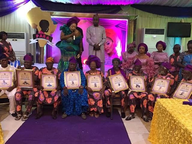 Foluke Daramola-Salako Honours Nollywood Veterans, Gives Cash Gifts
