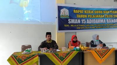 Sambut Ajaran Baru, SMA Negeri 15 Adidarma Banda Aceh Gelar Rapat Kerja Tahunan