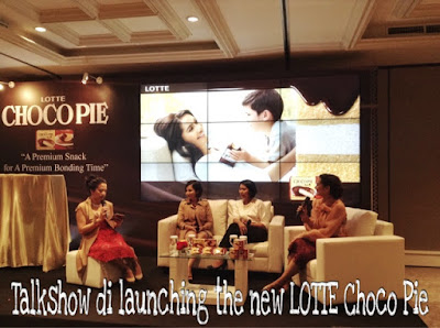 talkshow lotte choco pie menambah bonding ibu anak