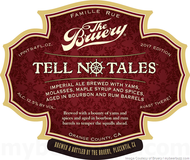 The Bruery - Vindictive II Collaboration & Tell No Tales