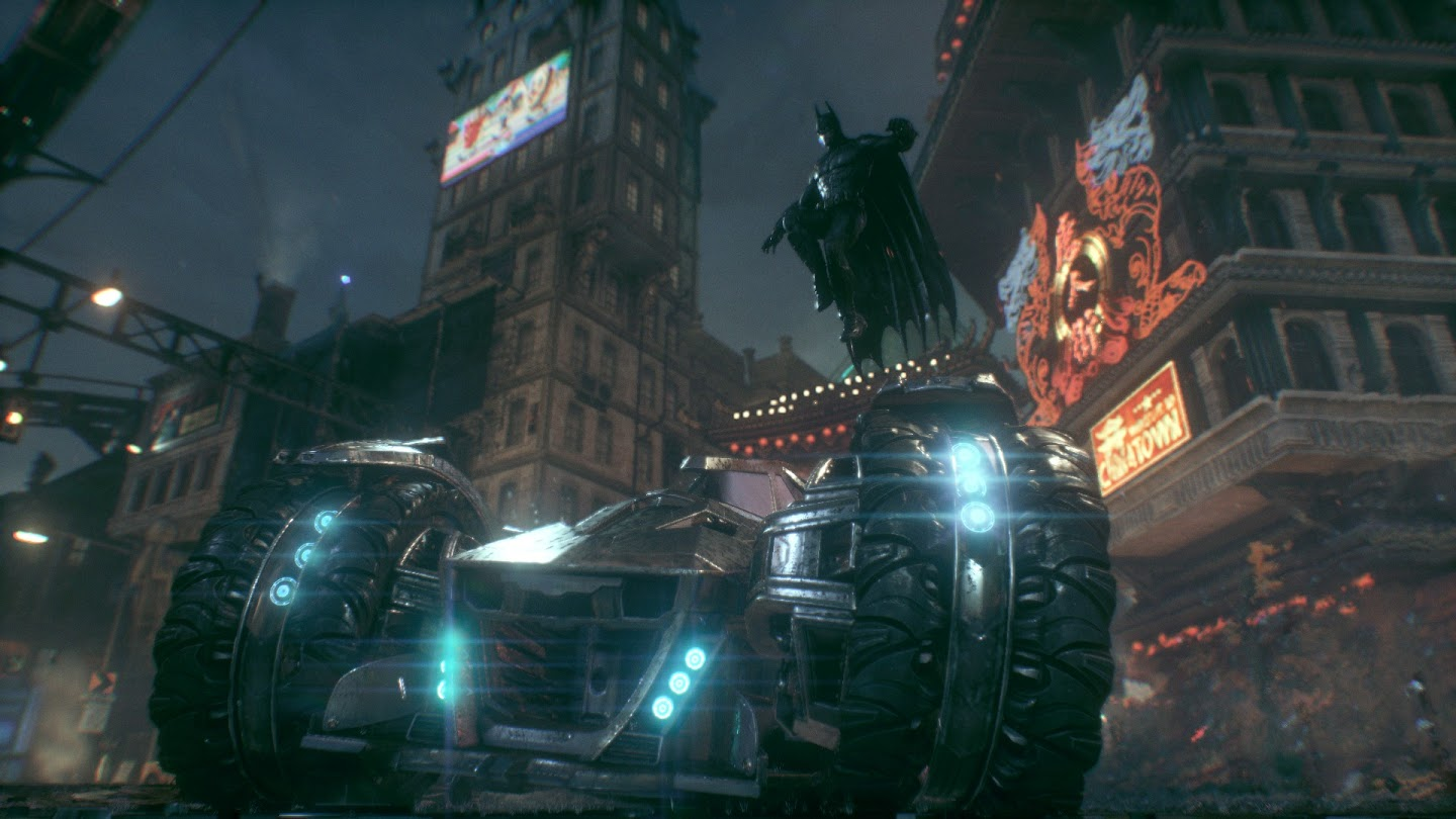 Batman Arkham Knight Review Life On The Grid