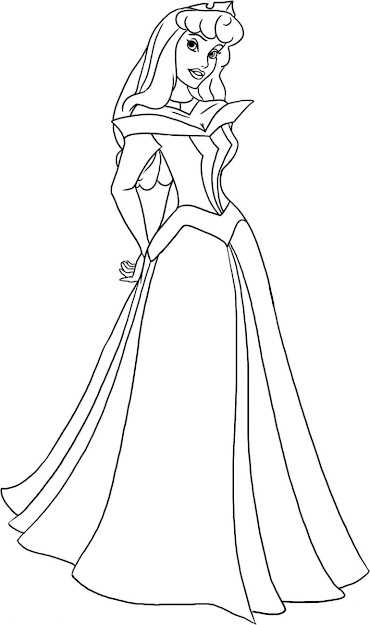 top 10 sleeping beauty coloring pages design