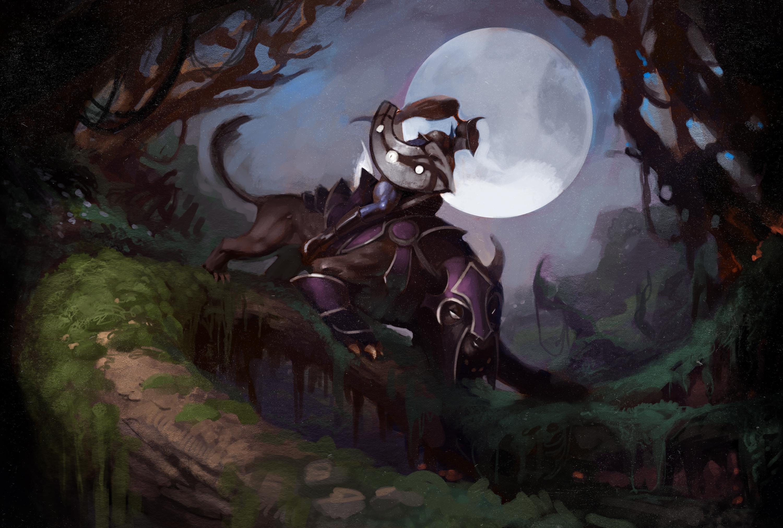 Loạt ảnh nguyên họa của các hero trong DotA 2 - Ảnh 25