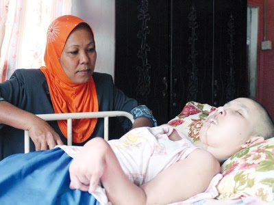 Anak koma selama 13 tahun