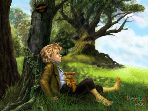 Dreams Of Elven Boy, Spirit Companion 4