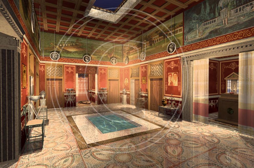 Locus linguae ejercicio la casa romana - La casa romana ...