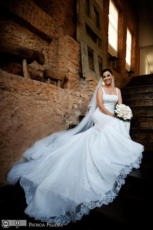 Foto de casamento 0128 de Lana e Erico. Marcações: 20/11/2010, Casamento Lana e Erico, Fotos de Vestido, La Novia, Rio de Janeiro, Vestido, Vestido de Noiva.