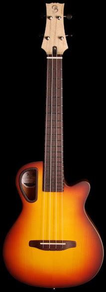 richard baudry grand electric tenor ukulele