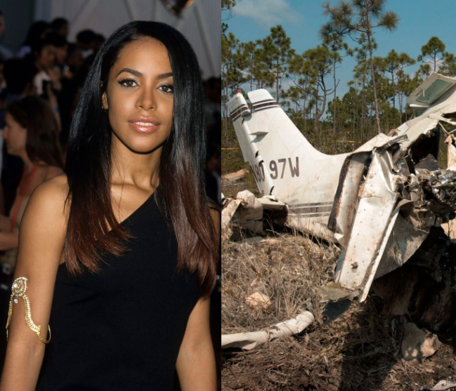 Aaliyah was carried unconscious onto plane before fatal crash after she refused to board, new book alleges