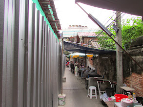 Photo: A shady alley I wandered down for fun