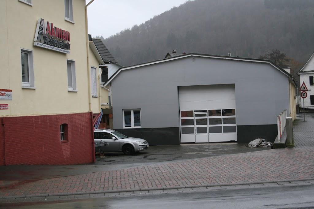 Eingangsbereich Montagehalle