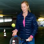 STUTTGART, GERMANY - APRIL 17 : Ekaterina Makarova at the 2016 Porsche Tennis Grand Prix
