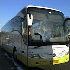 Mercedes Tourismo van AMZ Reizen bus 405