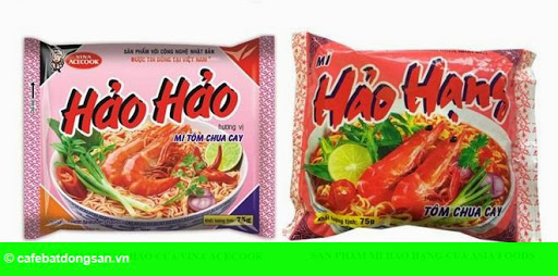 Hình 1: Mì Hảo Hạng bị siêu thị từ chối vì nghi nhái Hảo Hảo