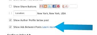 Add Adsense Ads in Blogspot