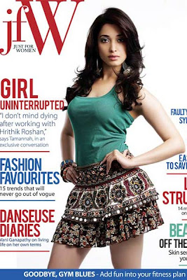 Tamanna on Just for Women Magazine