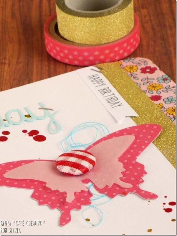 Idee Fustella farfalla Mariposa Sizzix