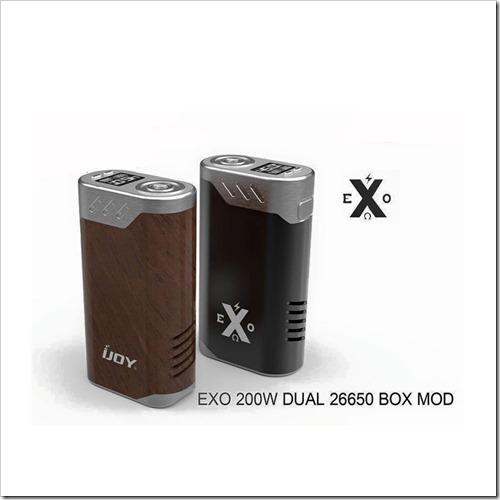 ijoy exo 200w dual 26650 box mod%25255B6%25255D - 【変態MOD】またやった!iJoyからiJOY EXO 200W 26650デュアルTCBOXMOD【疑似カンタル温度管理】