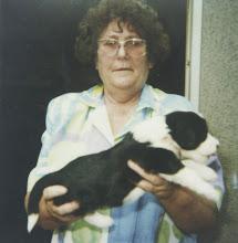 Photo: Jessica with her breeder Mrs Neumann/D