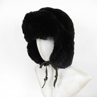 Albertus Swanepoel Faux Fur Trapper Hat