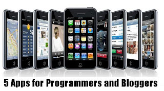 iPhone Apps for Programmers and Bloggers
