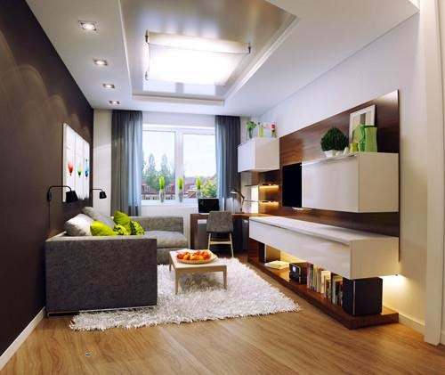 Những mẫu phòng khách nhỏ xinh và ấm cúng_NỘI THẤT PHÒNG KHÁCH-4