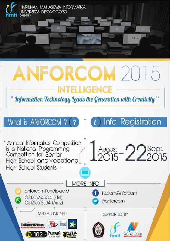 Annual Informatics Competition (ANFORCOM) - Lomba Pemrograman Nasional 2015