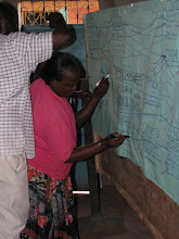 Photo: Workshop August 11th 2010 - Mapping out the network - where people will be using Eco-Pesa