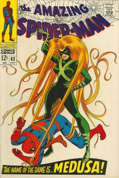 Amazing Spider-Man #62, Medusa