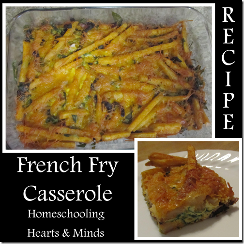 French Fry potato casserole