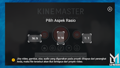 cara edit video cinematic di kinemaster