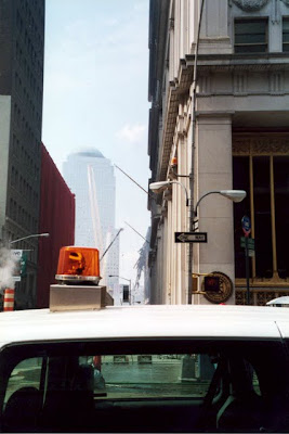 Ground Zero after the September 11 2001 terrorist attacks in New York City
