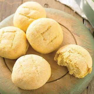 Crunchy Polenta Rolls.