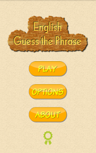 English Guess The Phrase 1