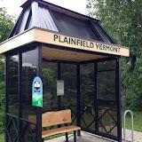 Village of Plainfield Bus Stop