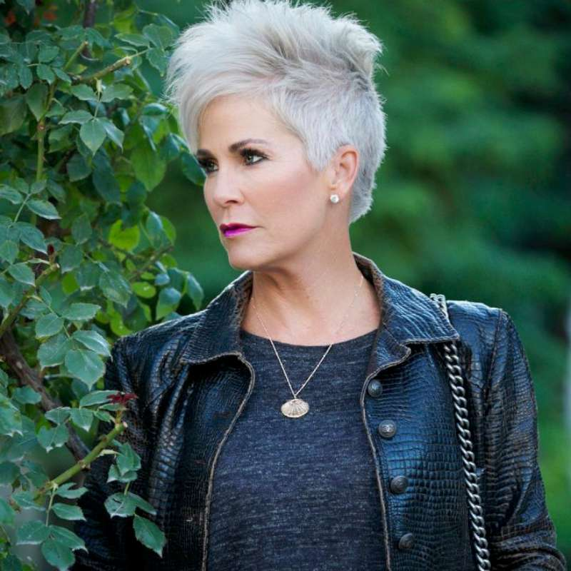 Gray Short Hairstyles And Haircuts For Women 2018 Fashionre