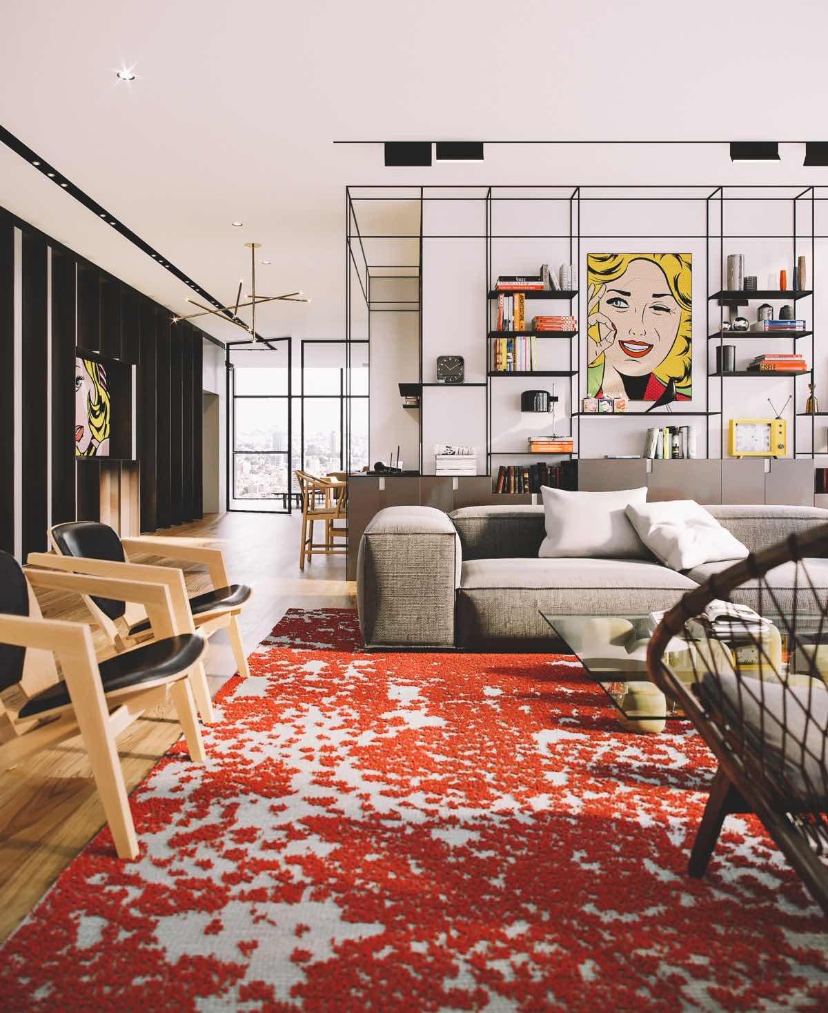 Alacena blog de arquitectura dise o y decoraci n una casa pop art - Mobiliario pop art ...
