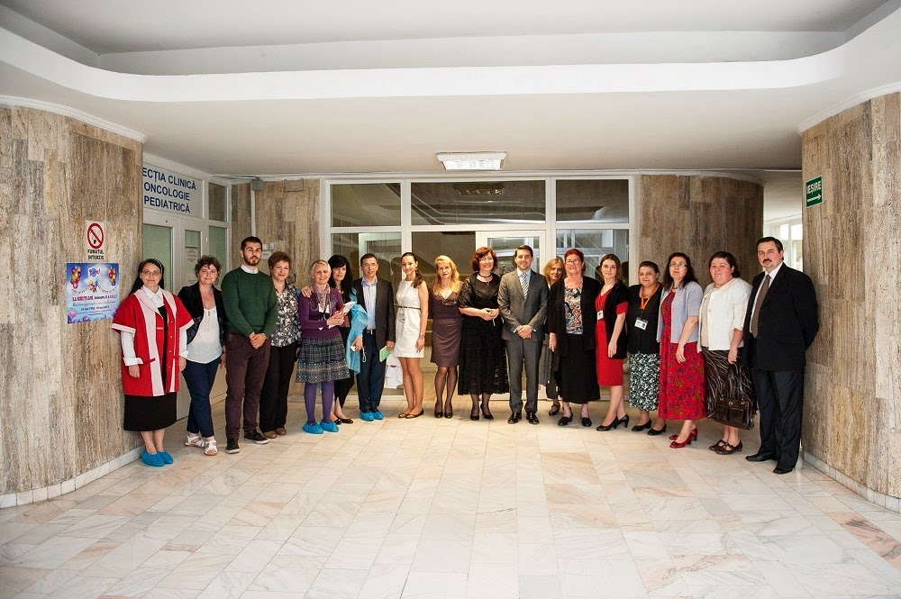 Copiii de la Institutul Oncologic din București, vizitați de Principele Nicolae
