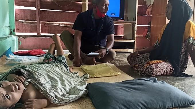 TKSK Idi Rayeuk Salurkan Bantuan ODKB