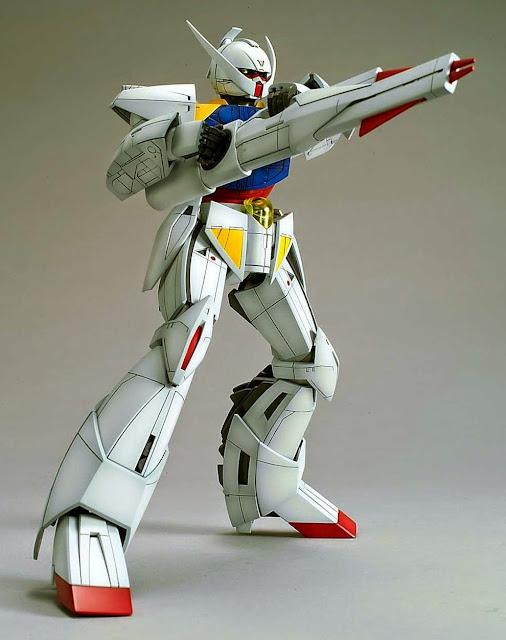 Tạo ra nhiều tư thế đẹp mắt cho WD-M01 Turn A Gundam tỷ lệ MG 1/100