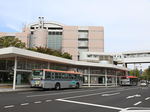新潟交通 市役所バス停 その3