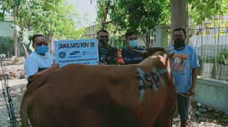 PT Jawa Satu Power dan EPC Distribusikan Sapi Kurban di Lingkungan Muspida Karawang